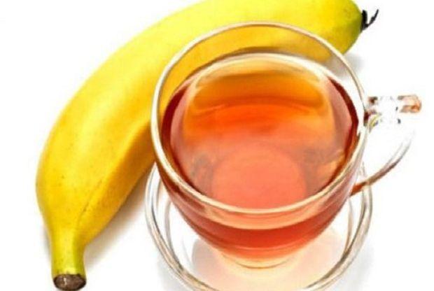 banana-čaj